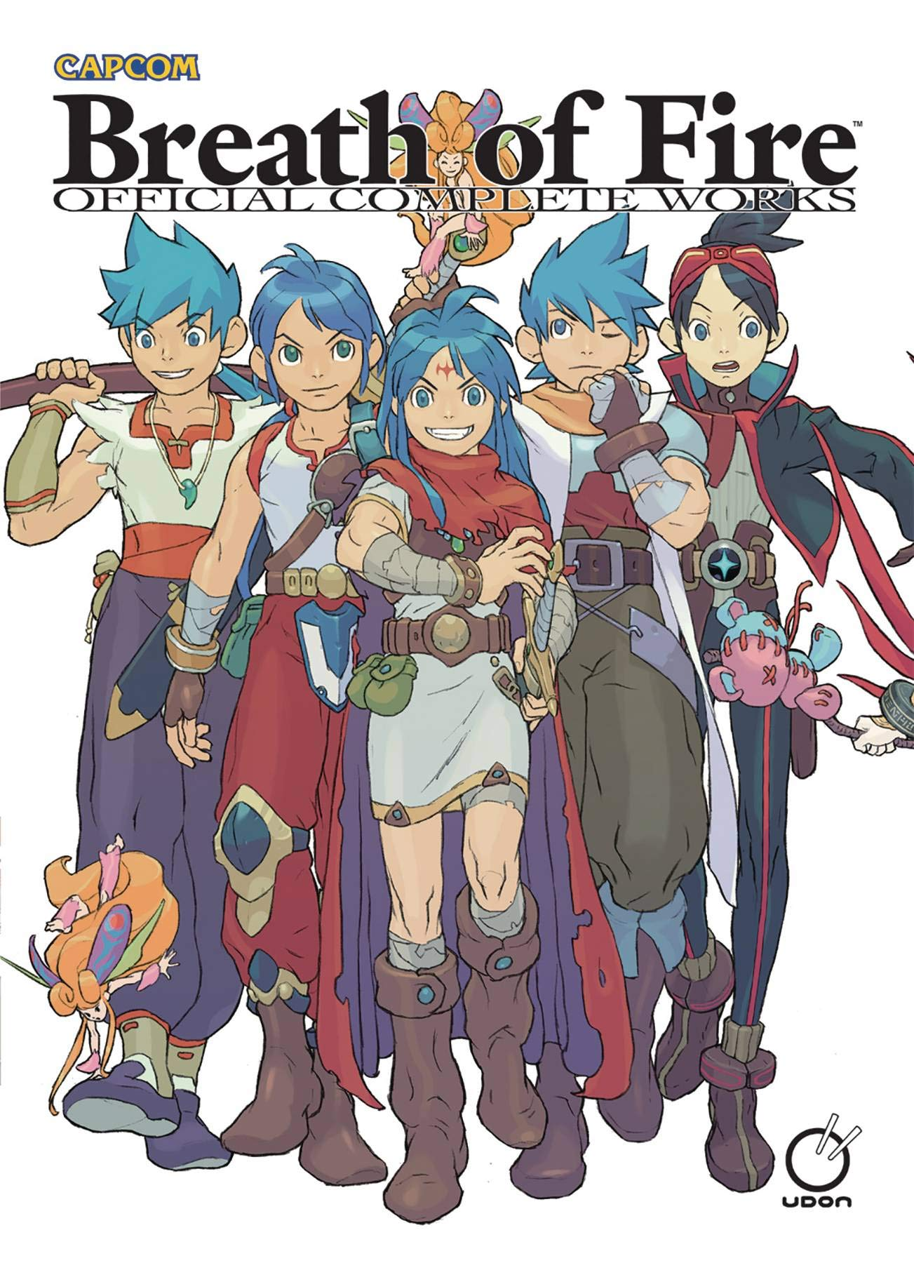 Download Breath Of Fire: Official Complete Works Hardcover 