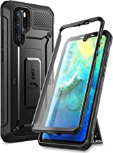 SUPCASE Huawei P30 Pro Case (2019 Release), [Unicorn Beetle Pro Series] Full-Body Dual Layer Rugged with Holster & Kickstand (Black)