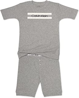 Calvin Klein 男童 2 件套睡衣