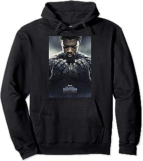 Marvel Black Panther Avengers T'Challa Poster Sweat à Capuche