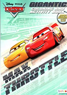 Pixar Disney Cars - Gigantic Coloring & Activity Book - 200 Pages