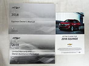 2018 Chevy Chevrolet Equinox Owners Manual Guide Book