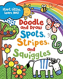 Doodle and Draw Spots, Stripes and Squiggles (Doodle Books)