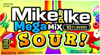Mike and Ike Mega Mix Sour 5 oz. (Pack of 2)