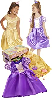 Disney Princess Belle & Rapunzel Dress Up Trunk