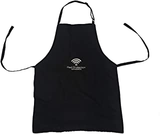 Radi Protection Anti - Radiation Protection Apron WiFi / 5G Protection (Size 8-16 Years Old, Black-Logo)