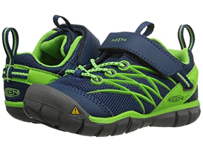 Keen Kids Chandler CNX (Toddler/Little Kid) (Poseidon/Jasmine Green) Boys Shoes