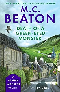 Death of a Green-Eyed Monster (A Hamish Macbeth Mystery Book 34)