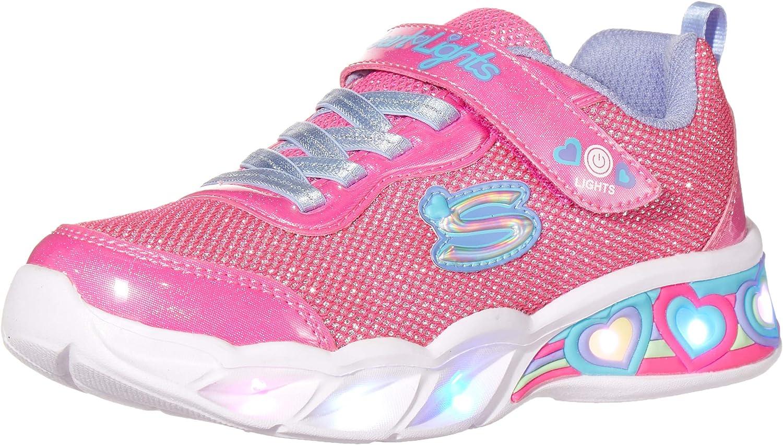 Skechers Max 74% OFF Columbus Mall Unisex-Child Girls Sport Footwear Sneaker S Lighted
