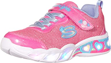 Skechers SWEETHEART LIGHTS - SHIMMER S Girl's Sneaker