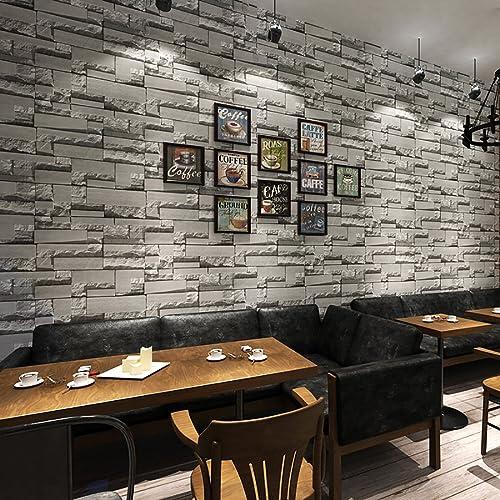 3D Brick Effect Wallpaper For Living Room: Amazon.co.uk