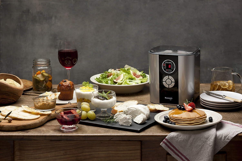 Kuvings Power fermenter Rouge KCG621 - Import Manuel en Anglais Blanc