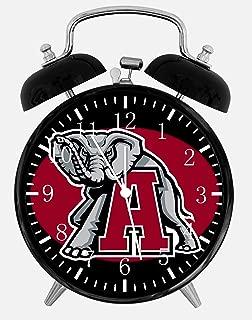 New Alabama Crimson Tide Alarm Desk Clock 3.75