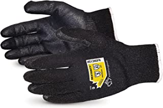 Dexterity High Abrasion and Cut Resistant Glove with Foam Nitrile Palm - Touchscreen Compatible - S13NGFN-9