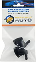 Mean Mug Auto 7133-232314D (Two) Front Windshield Washer Nozzles - For: Chevrolet (Chevy), Pontiac, Saturn - Replaces OEM #: 15247800