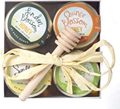 product image for Bare Honey | Pure Varietal Honey Gift Set | 4 x 1.87 oz Glass Jars