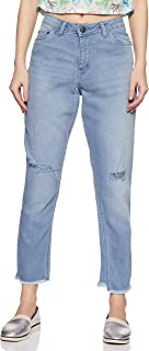 ABOF Women's Straight Fit Jeans
