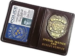 Resident Evil Biohazard S.T.A.R.S RPD Wallet Chris Redfield ID Holder   Leon Jill Wesker Cosplay