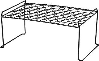 IRIS Stacking Shelf, Medium, Black
