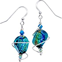 handmade dichroic glass jewelry