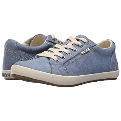 Taos Footwear Star (Sky Blue Washed Canvas) Women