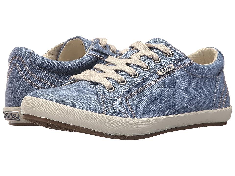 Taos Footwear Star (Sky Blue Washed Canvas) Women