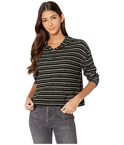 Billabong Brunch Date Hoodie (Black Multi) Women