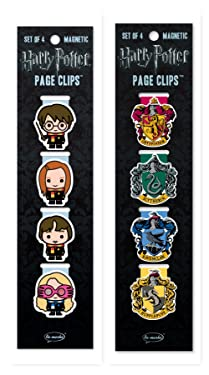 Re-marks Harry Potter Students and Crests Page Clip 2 Pack