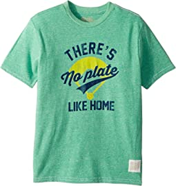 There's No Plate Like Home Short Sleeve Vintage Tri-Blend Tee (Big Kids)