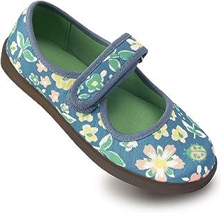 Sponsored Ad - AzaleeKa Little Kids Mary Jane Flats, School Uniform Shoes for Girls Cute Toddler Shoes Children Slip On Ve...