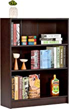 Deckup Muvo Book Shelf And Storage Unit (Dark Wenge, Matte Finish)