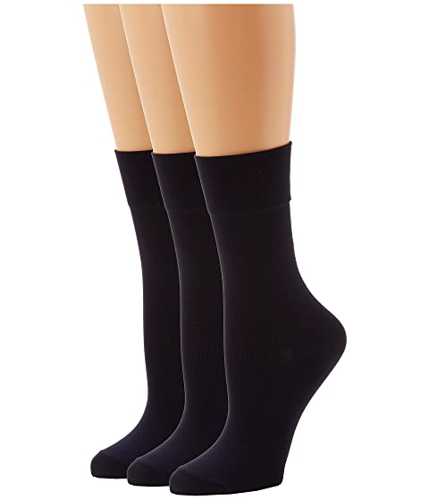 Outlet Online New Cheap Price HUE Ultrasmooth Sock 3 Pack Navy Solids New For Sale jtSLcxCq