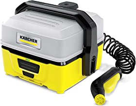Kärcher Mobile Outdoor Cleaner OC 3 (watertankvolume: 4 l, lithium-ion-accu, afneembare watertank, zachte lage druk) zonde...