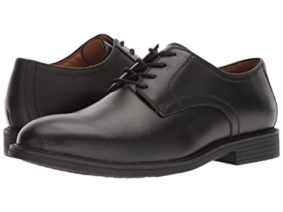 Johnston & Murphy Waterproof XC4(r) Hollis Plain Toe Dress Casual Oxford (Black Waterproof Full Grain) Men