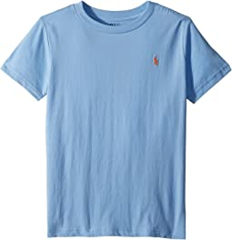 Polo Ralph Lauren Kids Cotton Jersey Crew Neck T-Shirt (Little Kid/Big Kid)