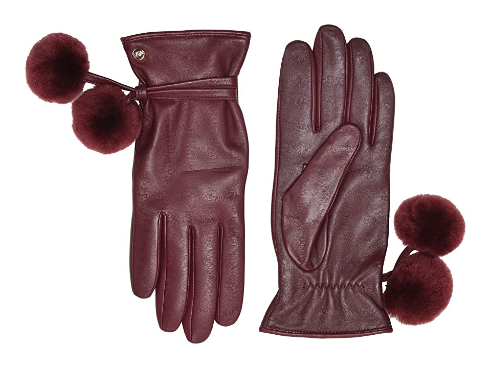 Vintage Style Gloves- Long, Wrist, Evening, Day, Leather, Lace UGG Sheepskin Pom and Leather Tech Gloves Port Extreme Cold Weather Gloves $130.00 AT vintagedancer.com