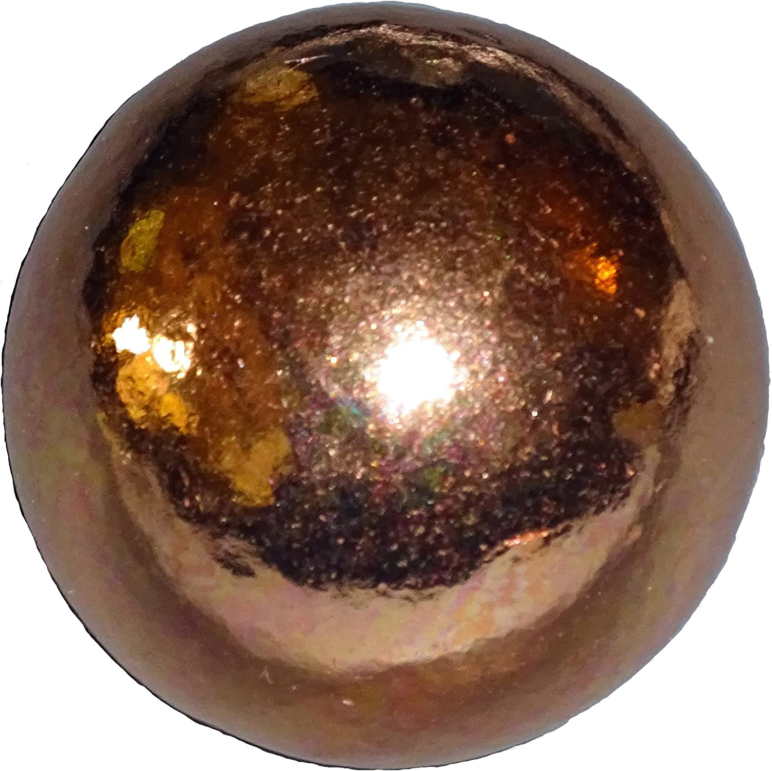 1pc Pure Copper 30mm Premium Copper Crystal Healing Gemstone Energy Orb Sphere Ball Mineral of Energy and Mental Agility by Sublime Gifts