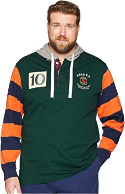 Big & Tall Hooded Rugby