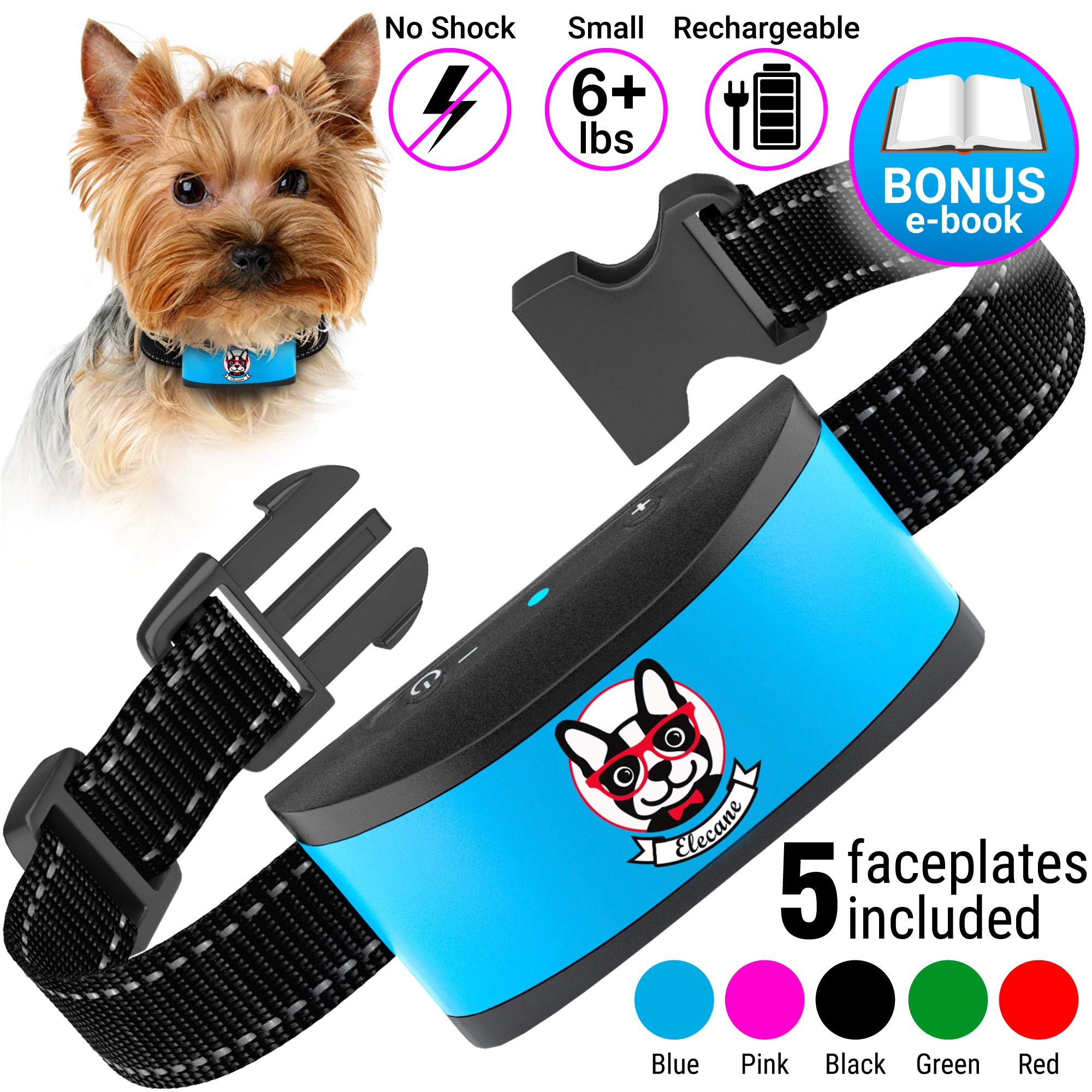 Small Dog Bark Collar Rechargeable
