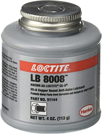 C5-A Copper Based Anti-Seize Lubricant - 4 oz. btc c5a anti-seizecopper base: image