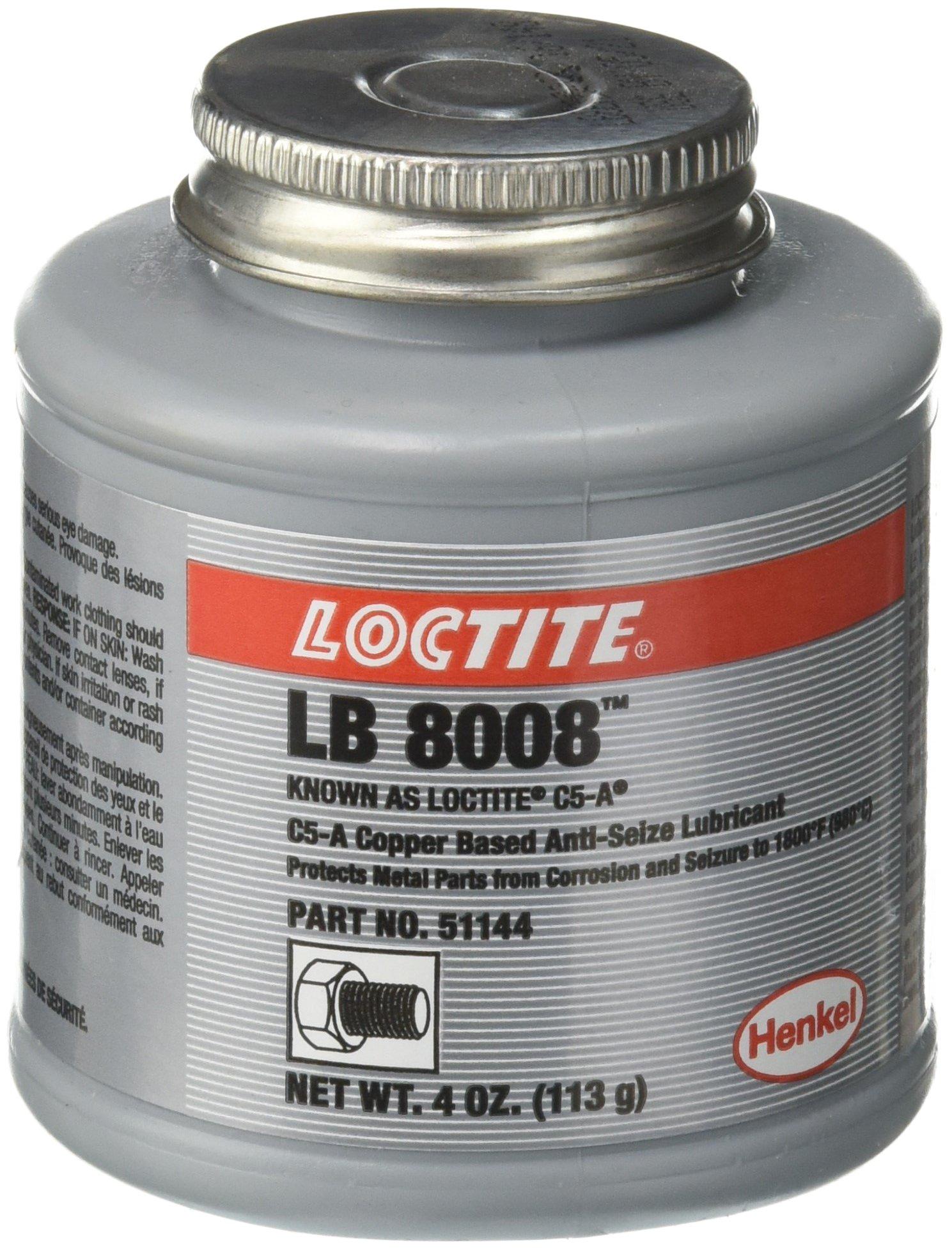 C5-A Copper Based Anti-Seize Lubricant - 4 oz. btc c5a anti-seizecopper base