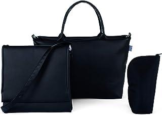 91a1dd810 Chicco Bag in Bag Bolso organizador con cambiador y minibolso en ecopiel,  color negro