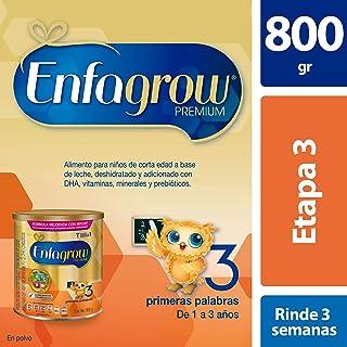 Leche de Crecimiento para Niños mayores de 12 Meses Enfagrow Premium Etapa 3 En Polvo Lata de 800 gramos