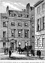 Benjamin Disraeli N(1804-1881) 1St Earl Of Beaconsfield English Statesman And Writer Lord BeaconsfieldS House At 10 Curzon-Street Mayfair Where He Died Wood Engraving From An English Newspaper Of 1881 - coolthings.us