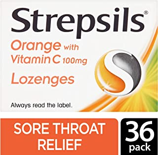 strepsils honey and lemon 36