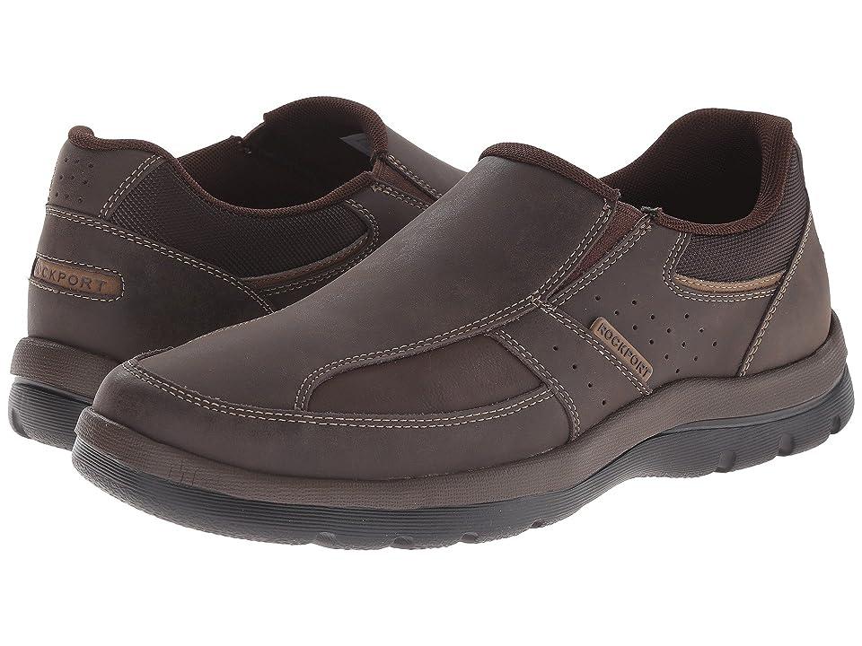 Rockport Get Your Kicks Slip-On (Brown) Men