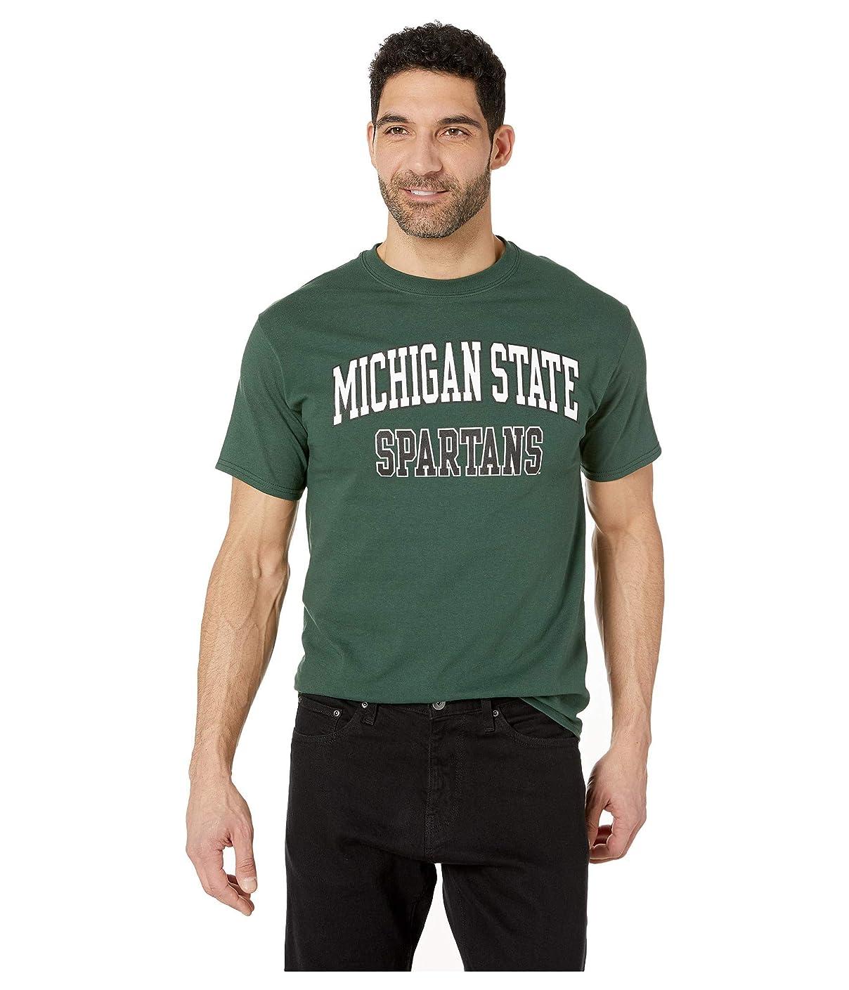 コーン誓う肉[チャンピオン] メンズ シャツ Michigan State Spartans Jersey Tee [並行輸入品]