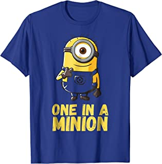 Despicable Me Minions One In A Minion Graphic T-Shirt