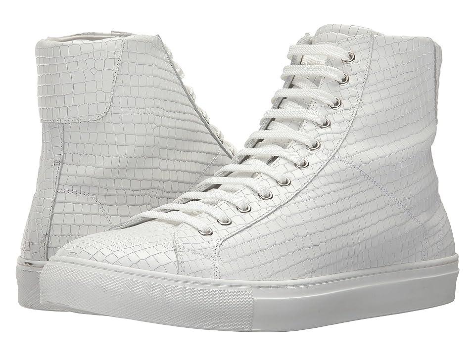 Gold & Gravy Dawson High Top Sneaker (White) Men