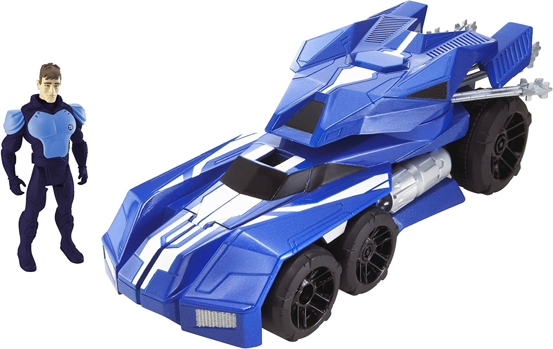 Hot Wheels Battle Force 5 Battle Action Buster Tank und Sherman Cortez Figur